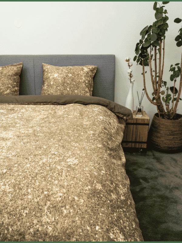 Kayori Hiyori - Bettwasche - Baumwolle-satin - Bronze