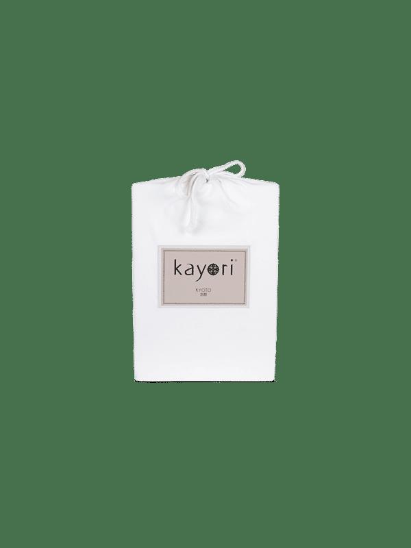 Kayori Kyoto - Topper Hoeslaken - Jersey - Wit