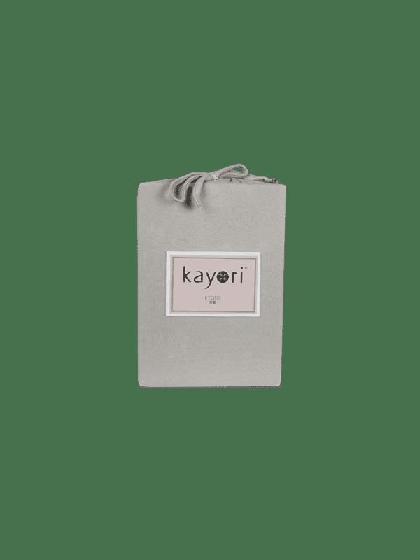 Kayori Kyoto - Topper Hoeslaken - Jersey - Taupe