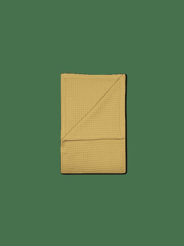 Kayori Osaka - Bedsprei - Waffle - 180/260 - Geel