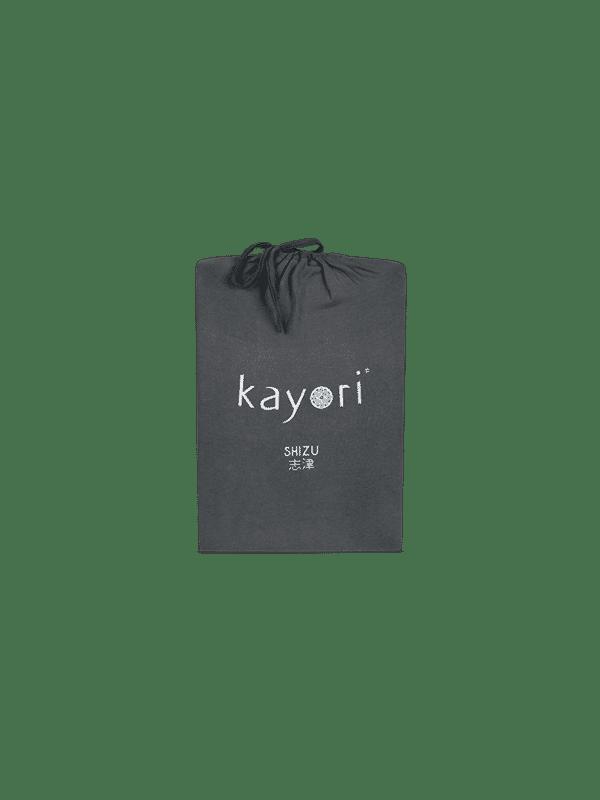 Kayori Shizu Topper Spannbettlaken Jersey - Anthrazit