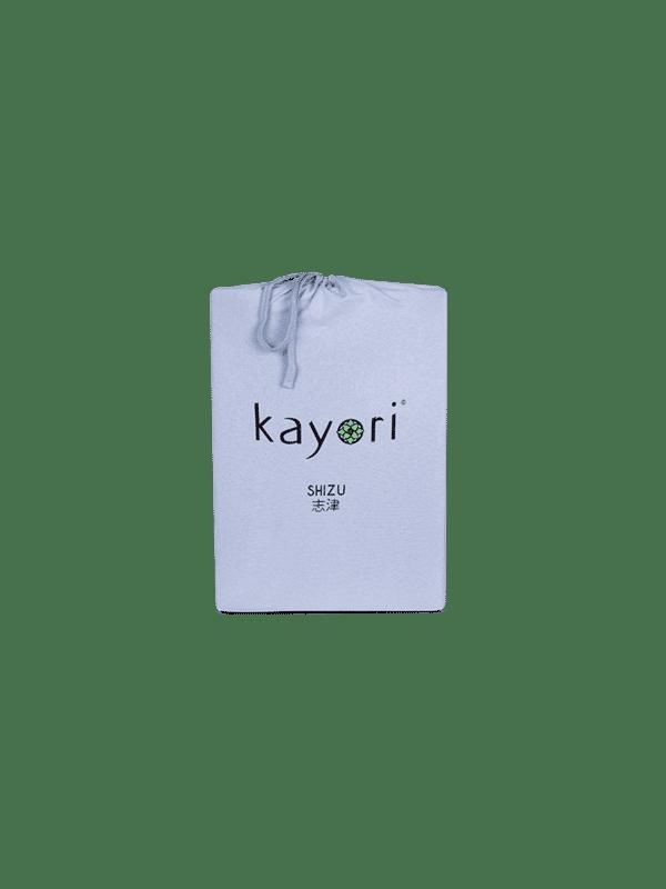 Kayori Shizu Spannbettlaken Jersey - Hellblau