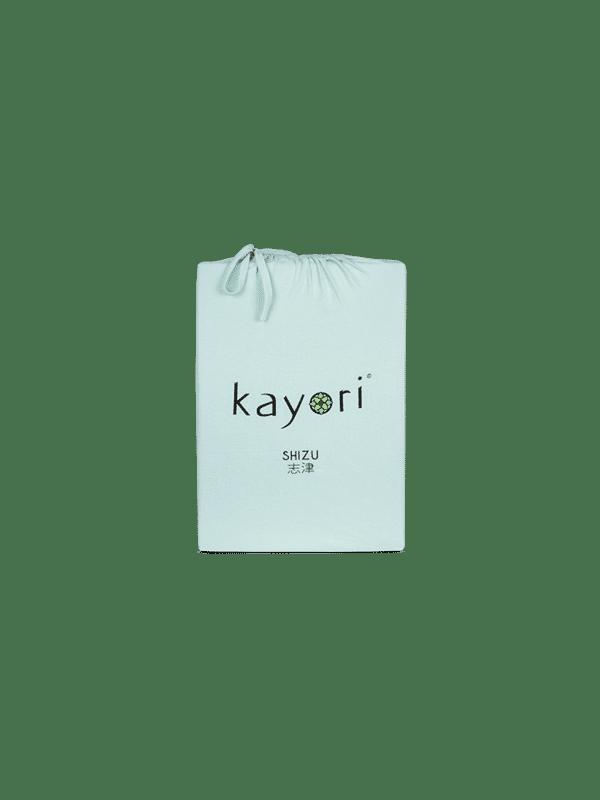 Kayori Shizu Topper Spannbettlaken Jersey - Mintgrün