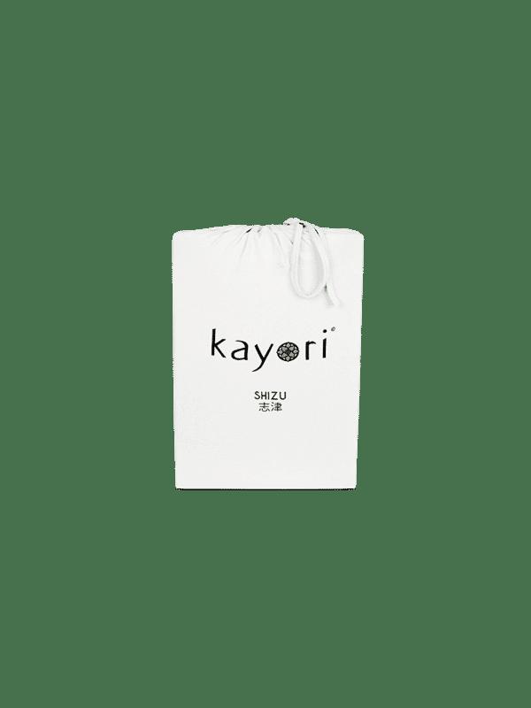 Kayori Shizu Spannbettlaken Jersey - Offwhite