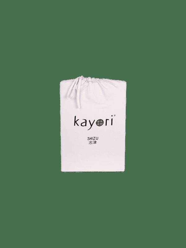 Kayori Shizu Spannbettlaken Jersey - Rosa