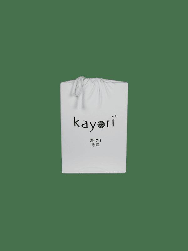 Kayori Shizu Split Topper hoeslaken stretch - Jersey - Zilvergrijs