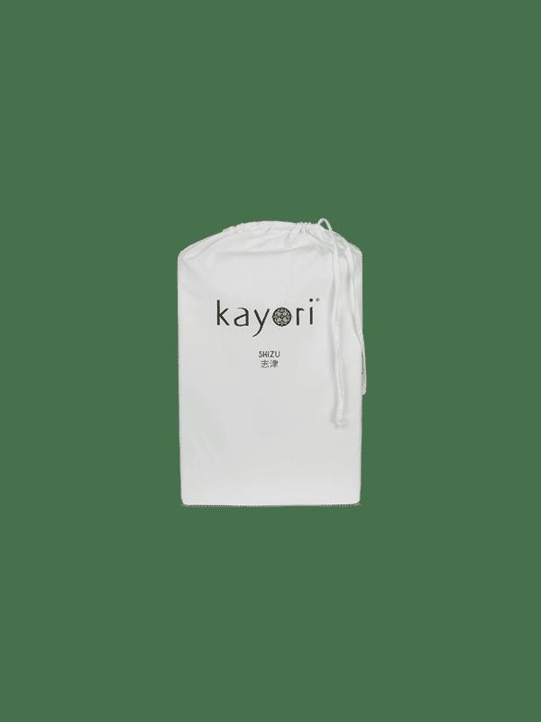 Kayori Shizu Split Topper hoeslaken Perkal - Zilvergrijs