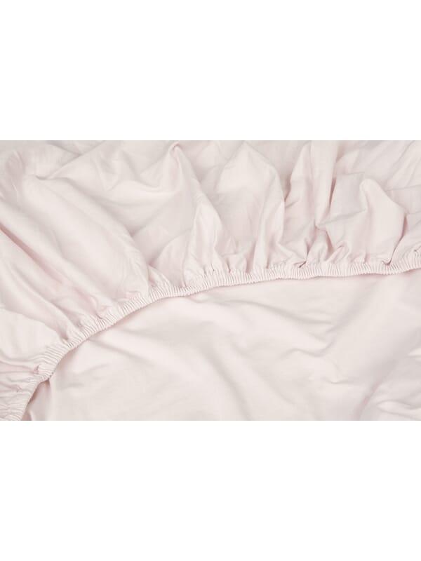 Kayori Shizu Split Topper hoeslaken stretch - Jersey - Roze