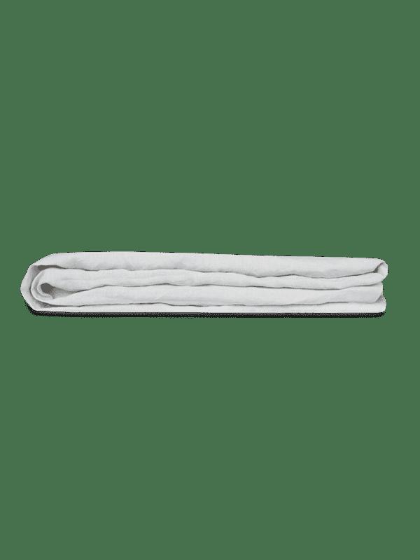 Kayori Nikko - Spannbettlaken - 40cm Steg - Leinen - Silbergrau