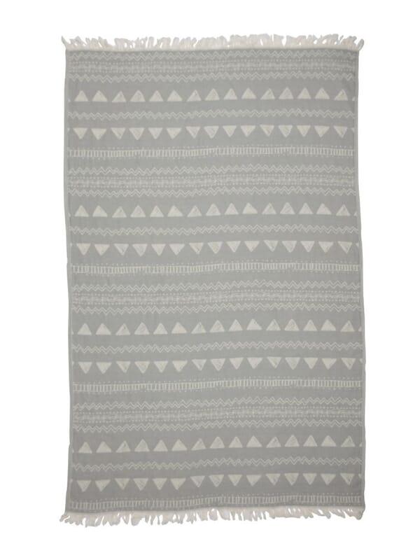 Kayori - Sura - Hamamtuch - 100x180 - Grau