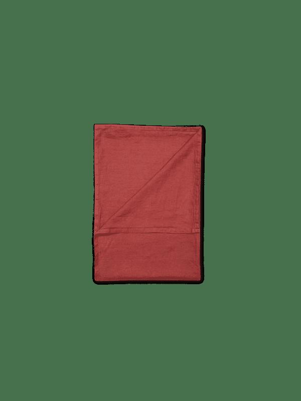 Kayori Nikko - Tagesdecke - Leinen - 260/280 - Rot