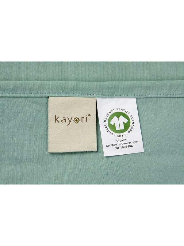 Kayori Shizu Laken - Katoenperkal - Groen