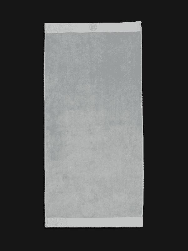 Kayori Yu - Badetuch - 60x110 - Silbergrau