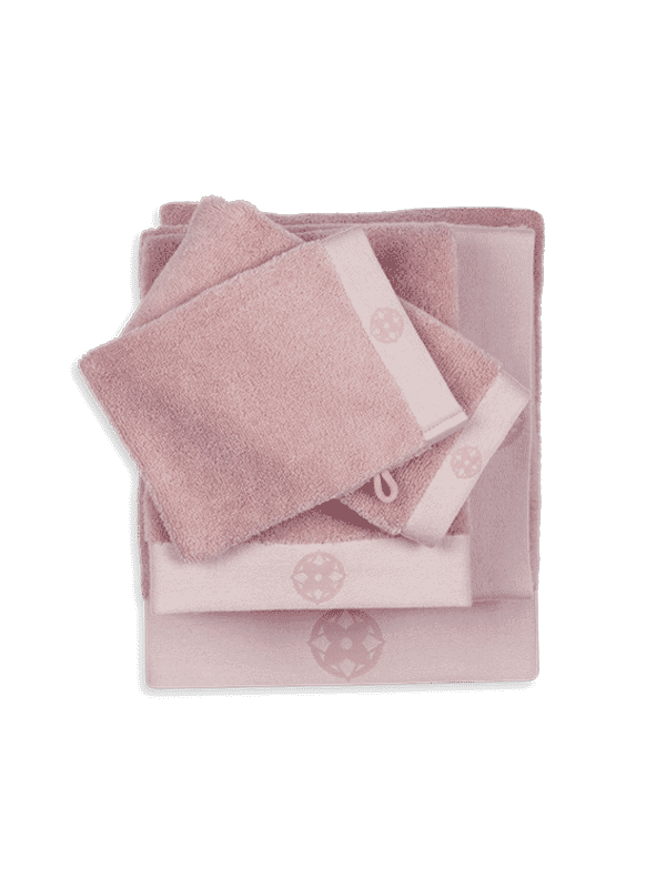 Kayori Yu - Gästentuch - 30x50 - Rosa