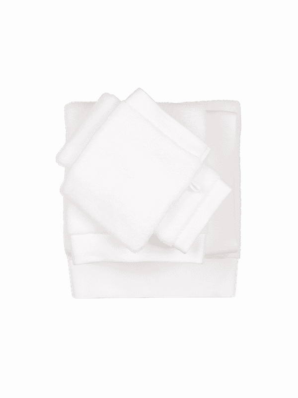 Kayori Yu - Gästentuch - 30x50 - Weiss