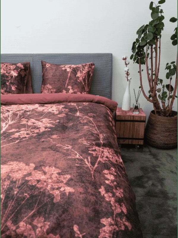 Kayori Kimora - Bettwasche - Baumwolle-satin - Rot