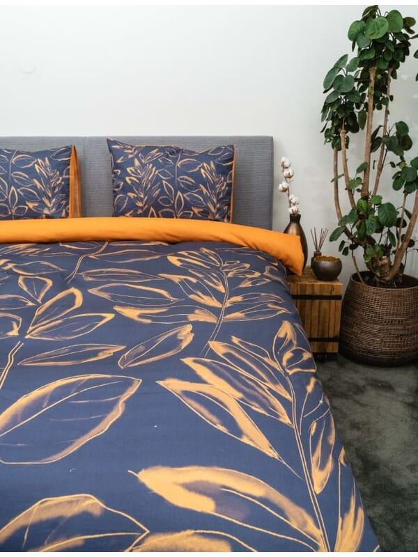 Kayori Nino - Bettwäsche - Baumwolle-satin - Blau