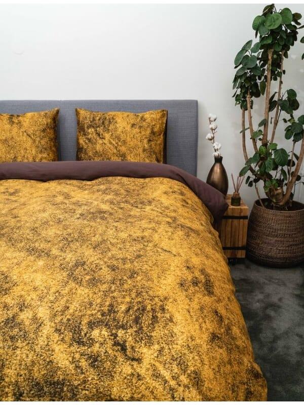 Kayori Shio - Bettwäsche - Baumwolle-satin - Gold